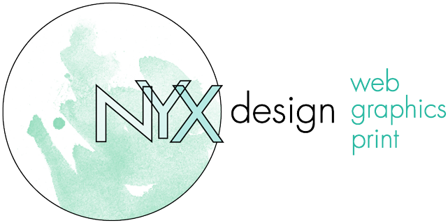 nyx design | web graphics print